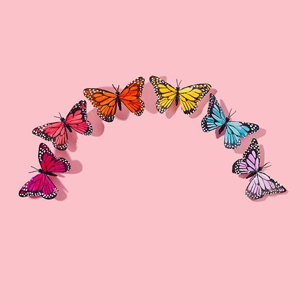 Butterfly Rainbow Amy Shamblen Creative Butterfly Wallpaper Iphone Butterfly Wallpaper Iphone Background Wallpaper