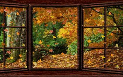 Осенние пейзажи на открытках. Cтраница 10