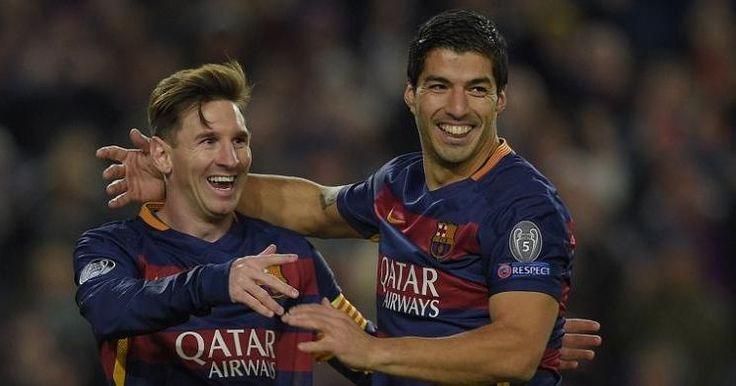 Berita Bola: Suarez-Messi Tak Jadi Kandidat Pemain Terbaik Eropa, Barca Kecewa -  http://www.football5star.com/liga-spanyol/barcelona/berita-bola-suarez-messi-tak-jadi-kandidat-pemain-terbaik-eropa-barca-kecewa/81012/