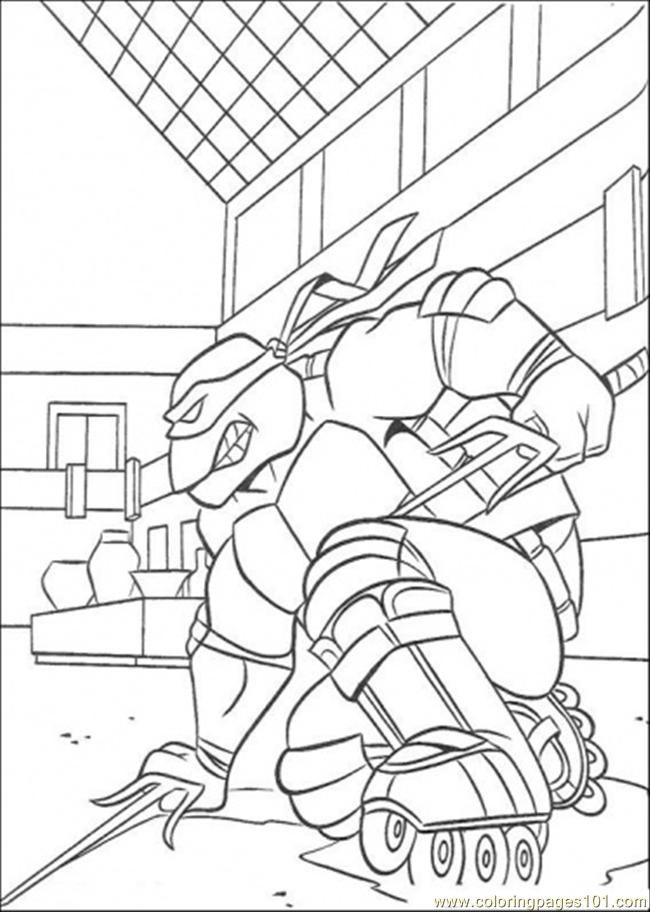 88 Best Images About Ninja Turtles Coloring Pages On Pinterest