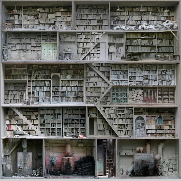 Marc Giai-Miniet's Demented Dollhouses.