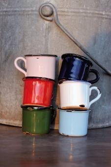 EspressoTassen aus Porzellan