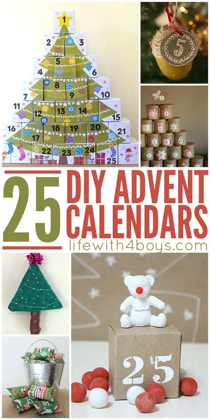 Best 20 diy advent calendar ideas on pinterest - Pinterest advent ...