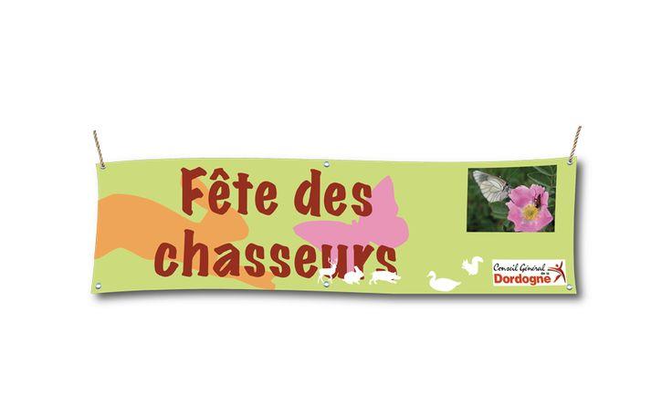 Jamet Communication : Banderole publicitaire imprimée sur bâche PVC 500 gr - livrée avec oeillets
