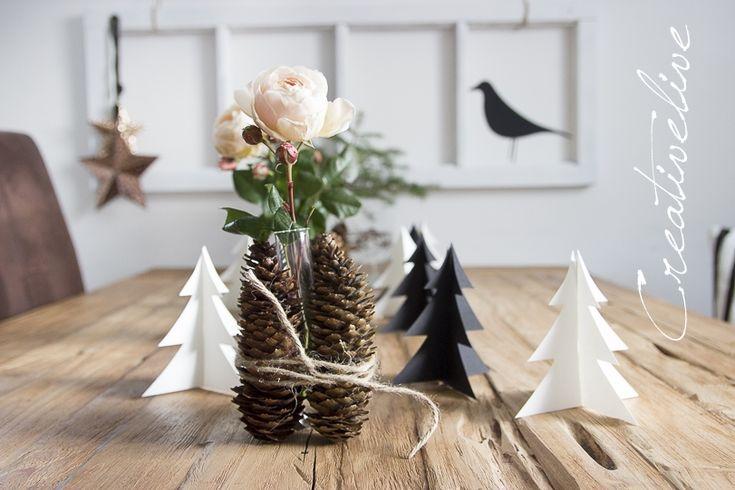402 best ideas about weihnachten on pinterest kerst trees and deko - Weihnachts deko im flur ...