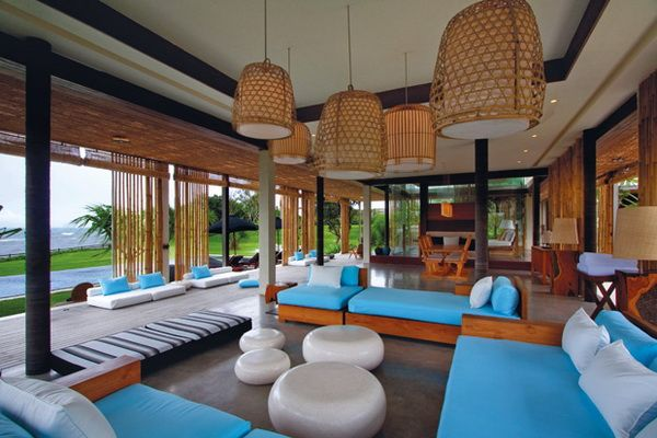 Villa Tantangan Livingroom
