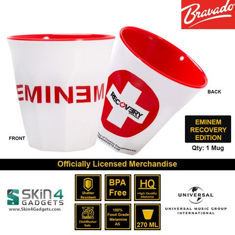 Universal Music/ Bravado Officially Licensed MerchandiseArtist: Eminem -Recovery Edition