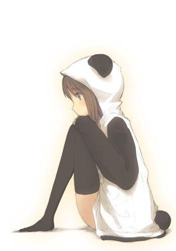 Anime Panda Girl                                                                                                                                                                                 Mais