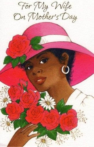 African American Mothers Day Gifts Moms Day Flowers One