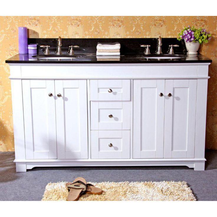 Legion Furniture 61W x 22D in. Kingston Stone Double Sink Vanity Top - LGN408