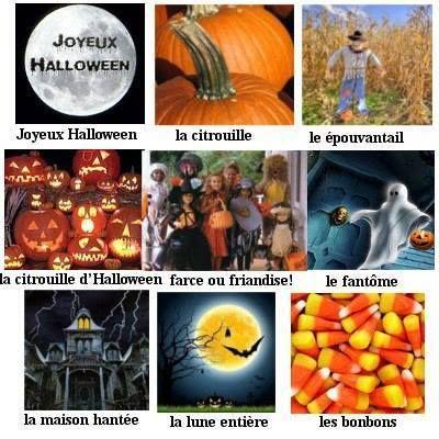 Halloween assorted vignettes