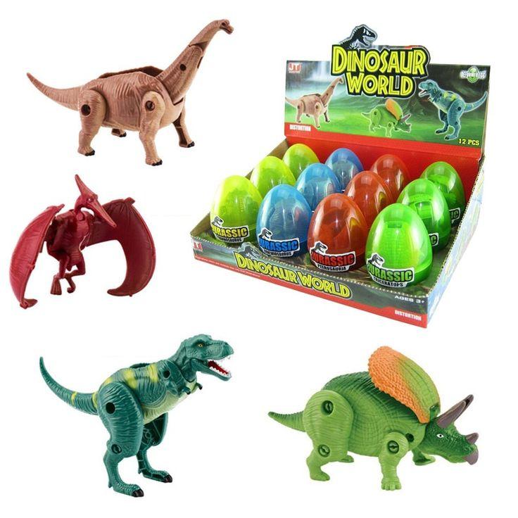 $9.77 (Buy here: https://alitems.com/g/1e8d114494ebda23ff8b16525dc3e8/?i=5&ulp=https%3A%2F%2Fwww.aliexpress.com%2Fitem%2FFree-Shipping-4pcs-lot-Deformation-Dinosaur-Eggs-Plastic-Jurassic-Novelty-Educational-T-REX-Dinosaur-Toys-Gift%2F32704616749.html ) Free Shipping 4pcs/lot  Deformation Dinosaur Eggs Plastic Jurassic  Novelty Educational T-REX Dinosaur Toys Gift for Children for just $9.77