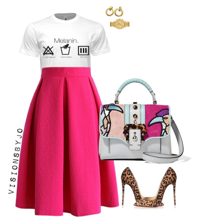 """""""Untitled #1415"""" by visionsbyjo on Polyvore featuring Chicwish, Paula Cademartori, Christian Louboutin, Chanel, Lacoste, women's clothing, women's fashion, women, female and woman"""