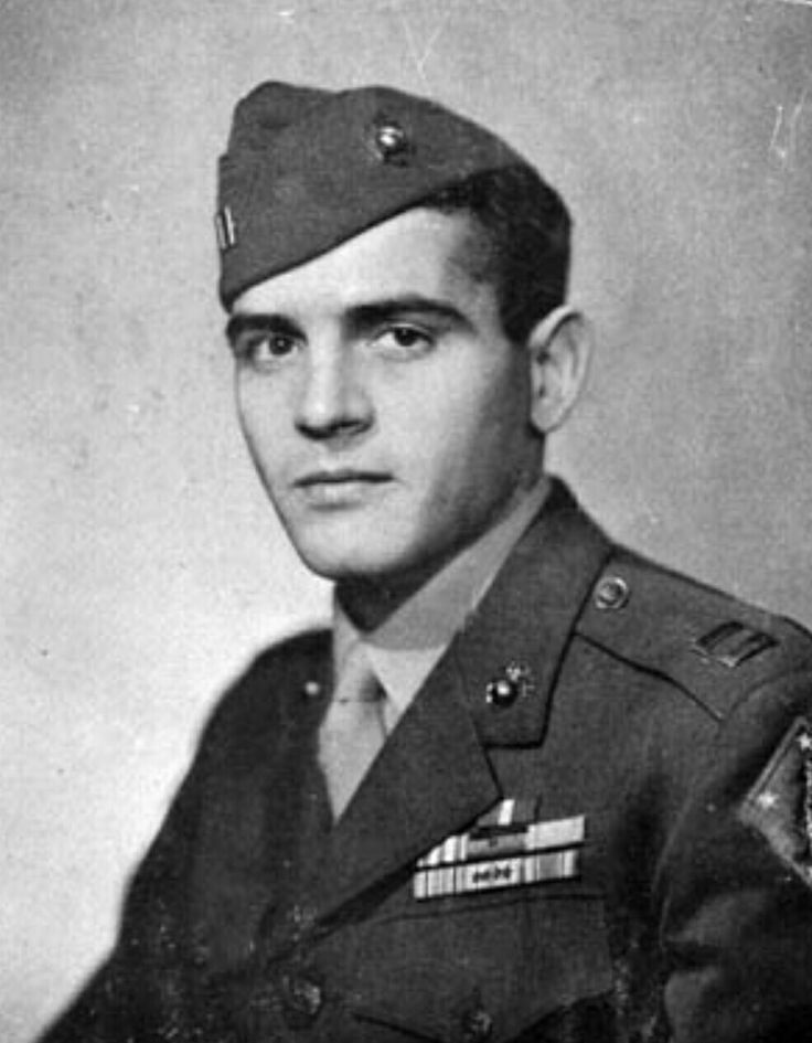 Peleliu navy cross winner Cpt George hunt 1st marine division  3rd battalion k company  .after landing on white beach. And attacking a dozen bunkers .he succeeded in defending 3 counter attacks killing over 420 Japanese soldiers.  He survived the wsr become a poet and author and Was editor of LIFE MAGAZINE