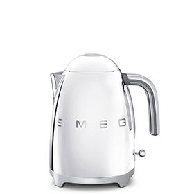 KLF01SSUK: Kettle Smeg designed in Italy, has functional characteristics of quality with a design that combines style and high technology. See it at www.smeguk.com