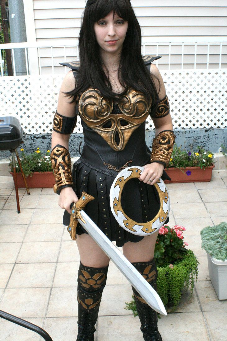 8 best xena dress up ideas images by aliza jane on pinterest a good remake of xenas costume solutioingenieria Choice Image