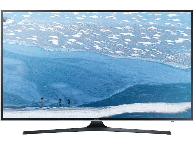 SAMSUNG UE55KU6079 LED TV (Flat 55 Zoll UHD 4K SMART TV) | 08806088247717 –  Kat… SAMSUNG UE55KU6079 LED TV (Flat 55 Zoll UHD 4K SMART TV) | 08806088247717 –  Kategorie: TV & Audio > Fernseher > LED- & LCD-Fernseher  SAMSUNG UE55KU6079 LED TV (Flat 55 Zoll UHD 4K SMART TV) Erleben Sie präzisere und natürlichere FarbenSamsung hat eine spezielle Farbtechnologie für unseren UHD TV unter dem Namen PurColour entwickelt die in der Lage ist eine breitere Farb- und Farbtonpalette auszudrücken die so nah wie nur möglich an die realistische Farbgebung heran reicht und Ihnen damit ein natürlicheres Fernseherlebnis bietet. Mit 8 Millionen Pixeln die das UHD-Display bietet  das ist mehr als viermal soviel wie ein Full HD Display  benötigen Sie mehr Farbeinstellungspunkte um detaillierte Bilder zu erzeugen. Herkömmliche UHD TV-Geräte verfügen über rund 27 Farbeinstellungspunkte doch PurColour steigert diese dramatisch um das mehr als Siebenfache. Damit lassen sich Farben und Farbtöne erzielen die wesentlich brillanter und raffinierter sind.Strahlende HelligkeitGeniessen Sie die Brillanz eines lichtdurchfluteten Sommertages und entdecken Sie selbst kleinste Details im Schatten. Mit der Leuchtkraft von HDR zeichnet sich jedes noch so kleine Detail selbst in den dunkelsten Szenen präzise ab. Freuen Sie sich auf strahlend helle und kontrastreiche Bilder.Jedes Detail in unglaublicher 4K UHD-AuflösungErleben Sie lebendige Details mit der 4-fachen Auflösung von Full HD TV. Dank der lebensechten Farben und Helligkeit werden alle Inhalte besser dargestellt.Schneller und individueller Zugang zu allen InhaltsquellenDer neu entwickelte Smart Hub ermöglicht eine noch schnellere und intuitivere Bedienung. Alle wichtigen Funktionen wie TV-Sender Apps Spiele extern angeschlossene Geräte sowie TV-Einstellungen lassen sich zentral steuern. So gelingt der Wechsel zwischen zwei Funktionen wie z. B. einer Streaming-App und einem TV-Sender mit nur 3 Klicks. Zudem lässt sich der Smart Hub individuell g