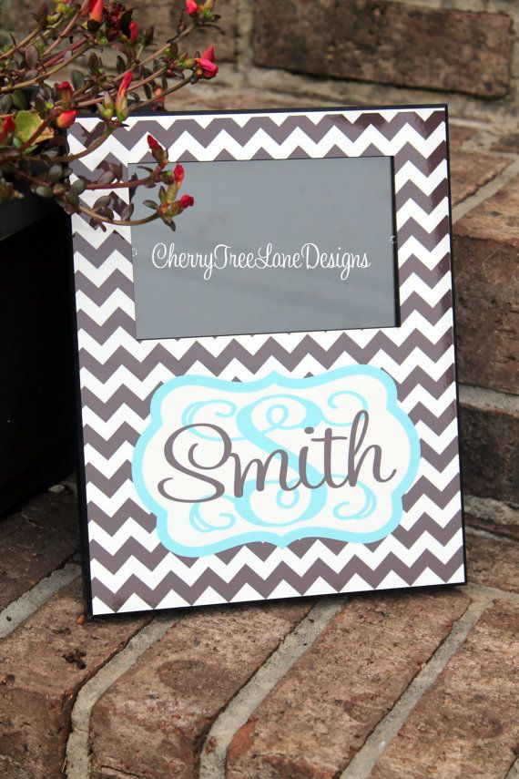 Personalized Family Picture Frame  Family by CherryTreeLaneDesign, $39.99