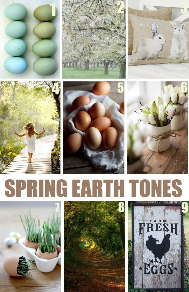 "View these gorgeous Spring mood Boards, and you are sure to ""get-in-the"" mood for Spring!"