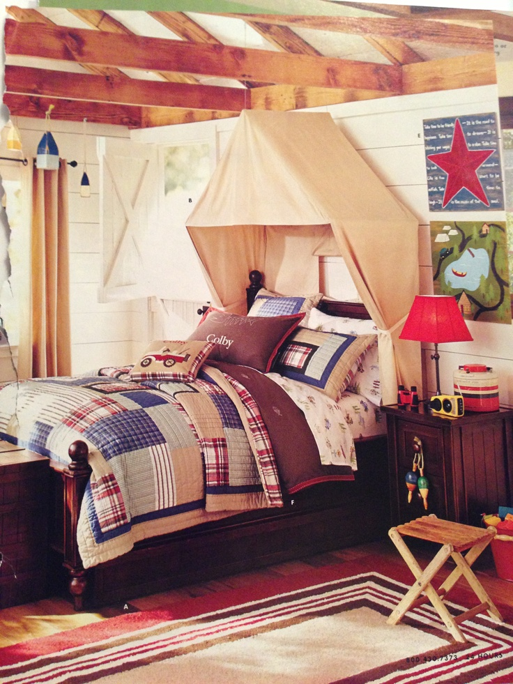 Tent bed canopy if i ever have a boy dream rooms for Canopy for boys bed