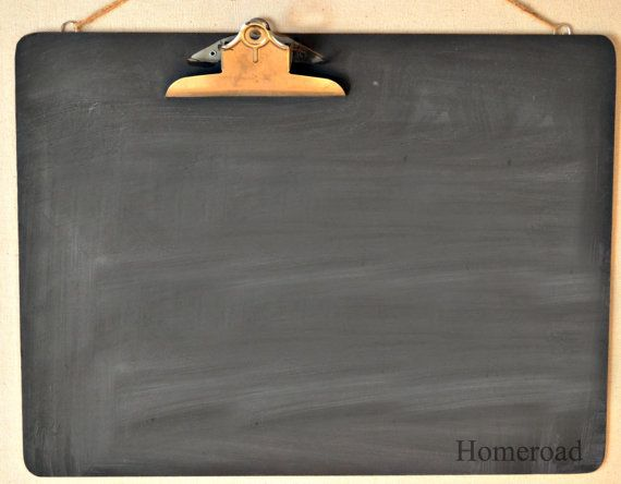 Extra Large Clipboard Chalkboard Message Center