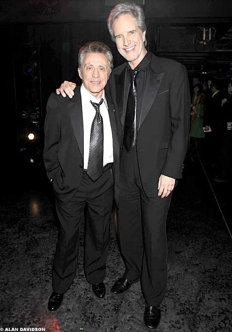 Frankie Valli and Bob Gaudio, founding two members of the Four Seasons