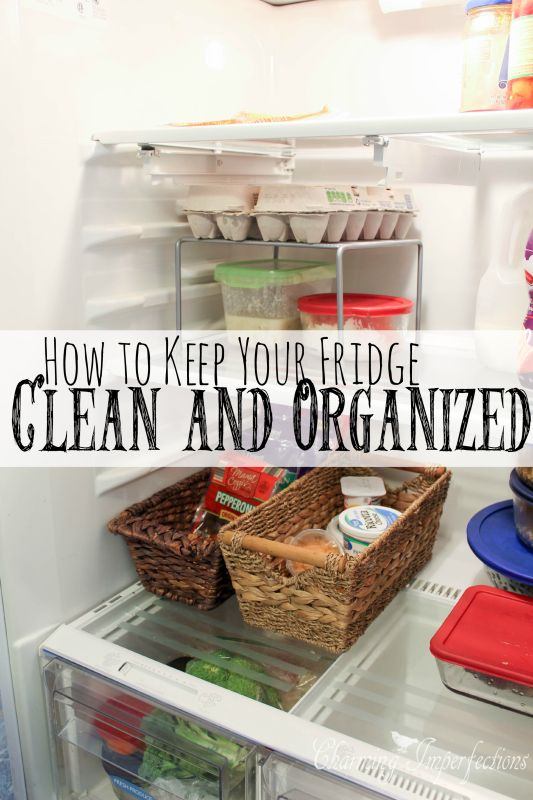 32 best organization images on pinterest organization for How to keep kitchen clean and organized