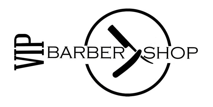 VIP BARBER SHOP NEW LOGO!!!