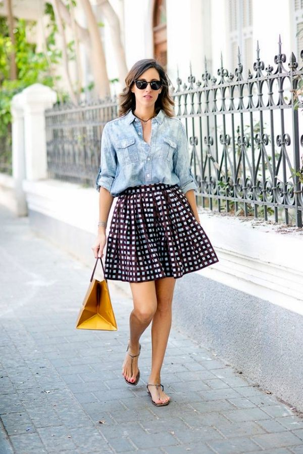 25 Killing Styles To Wear Chambray Shirt Outfits