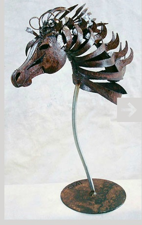 Amazing animal sculpture from http://www.doughaysart.com