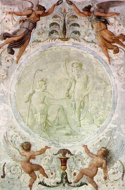 Ο Πάρις δίνει το μήλο της έριδος (1817)