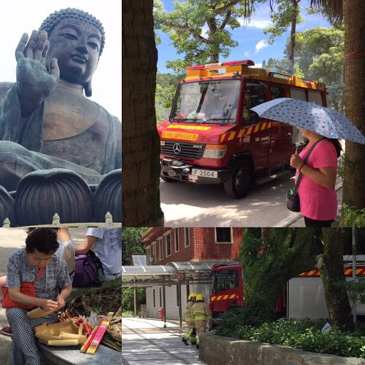 Fire brigade called to monastry