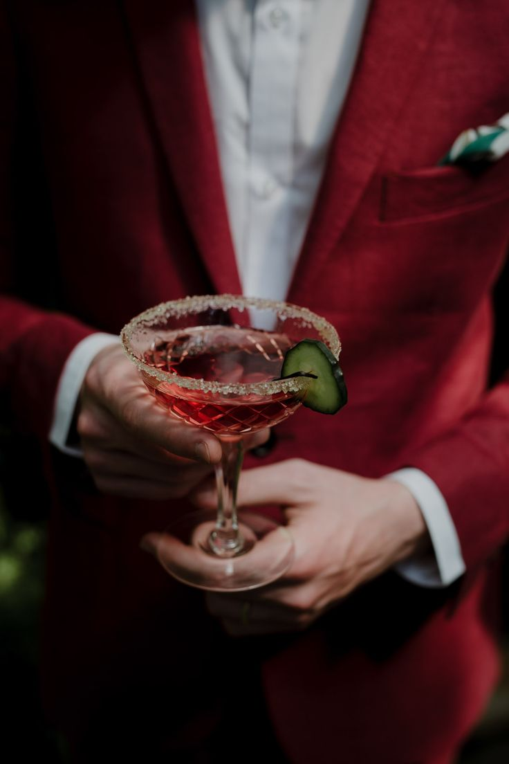 talian groom's suit by Linnèo | Greenhouse Wedding Inspiration in Florence, Italy