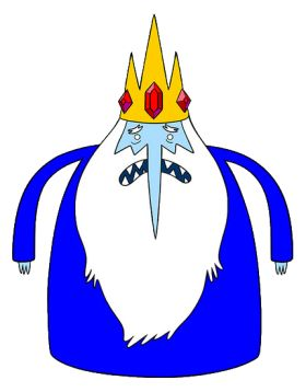 Ice King- Ice King pinata? Could use a regular egg shaped balloon as frame for the paper mache and a small piece of cardboard for the crown at the top.