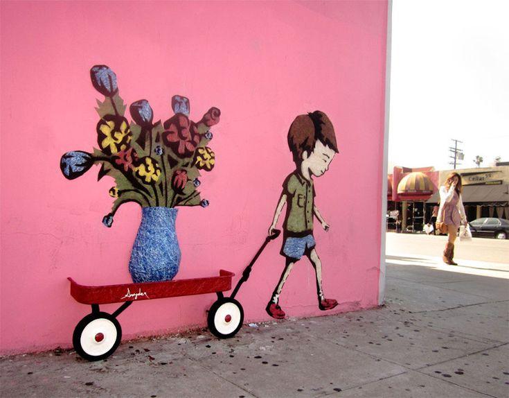 Street art in Los Angeles.