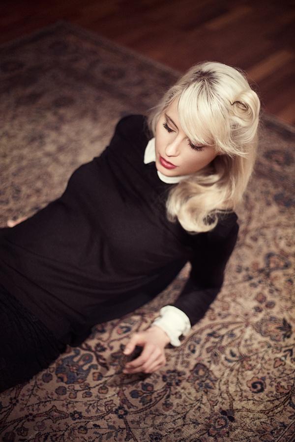 Amanda Jenssen by Sara Arnald, via Behance