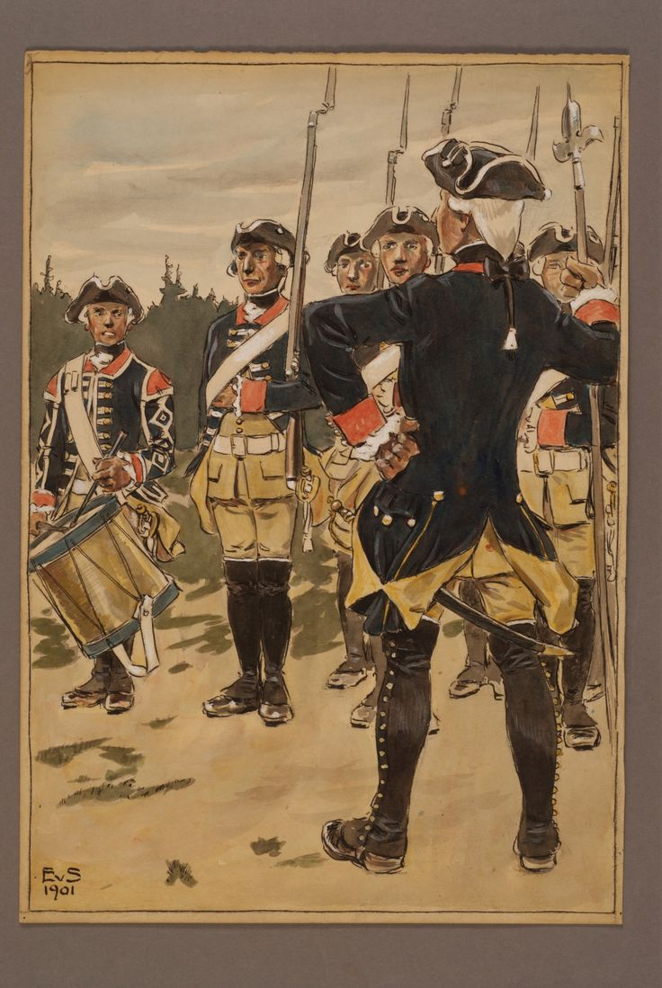 Regiment of Uppland by Einar von Strokirch