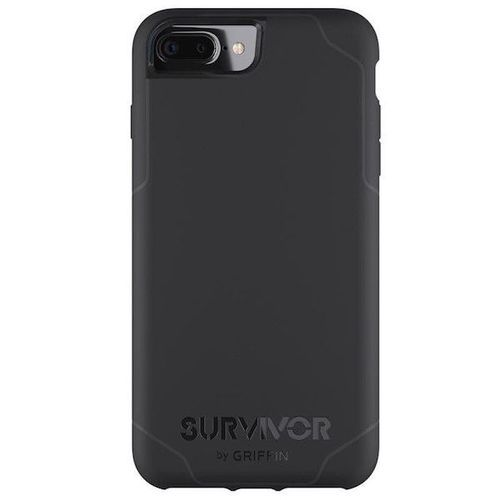Griffin Survivor -Journey Strong / Military Standard 810-G standards [6.6 Ft.] Drop Protection On Concrete Cover Case Black Fits Apple Iphone 7 Plus [5.5 inch ] Cellphone
