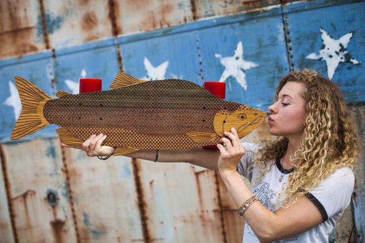 Salmon cruiser available at AgainstTheGrainLaser.com