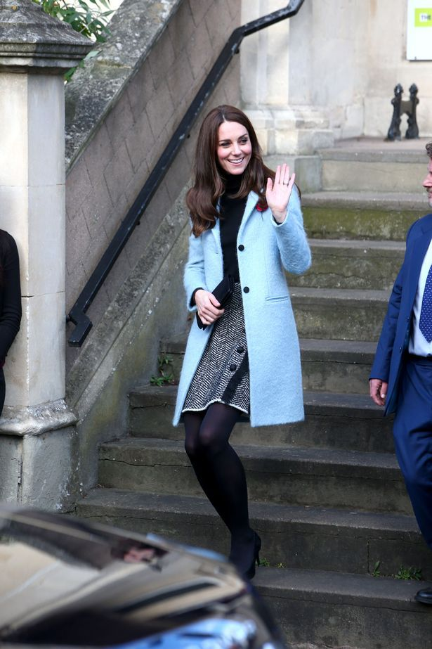 Wrap up in blue like Kate Middleton with our look for less