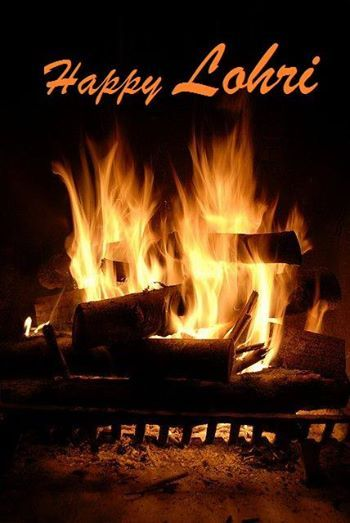 May the warmth of the holy #Bonfire fill your lives with #Joy and #Happiness #HappyLohri