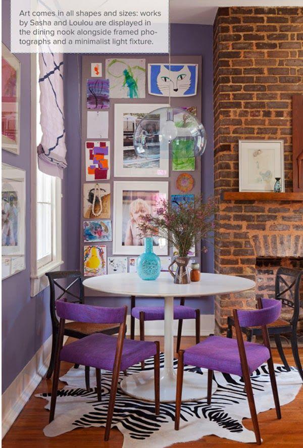 La vida en tonos lila, malva, morado, violeta… · Life in violet, lilac, mauve, purple shades