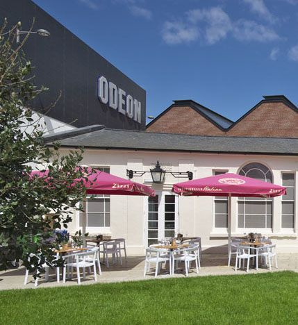 Right in the garden of the Odeon Cinema | Zizzi Hereford, 2014