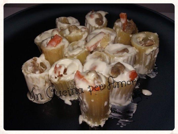 #paccheri napoletani ripieni. #primi #pasta #foodblogger #giallozafferano #gialloblog