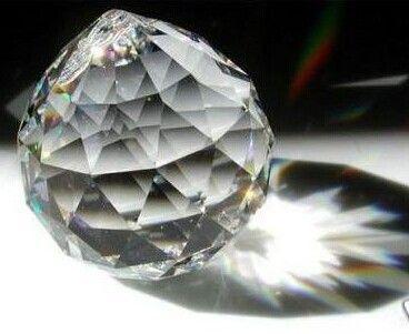 30mm kristal facet geslepen bol, kristallen kroonluchter bol voor kroonluchter onderdelen& bruiloft, x mas event party leveranties in  beschrijving: art.: kscb001 vorm: gefacetteerde kristallen bol grootte: 30mm kleur: helde van kristal ambachten op AliExpress.com | Alibaba Groep