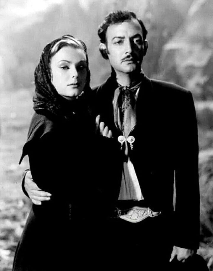 Miroslava y Jorge Negrete