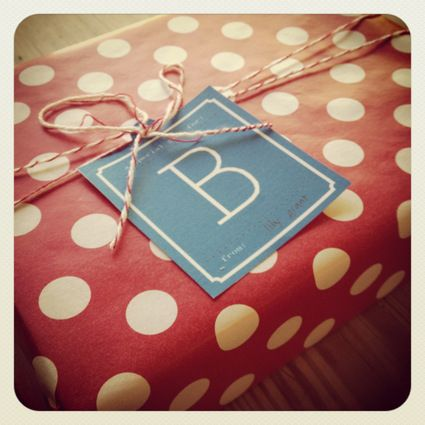 printable monogram tags from the daily 5