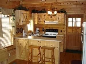 Simple Small Country Kitchen