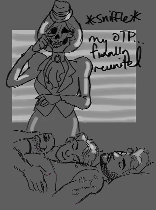 inferusantiquis: (I think we can all relate to the Faceless Old Woman tbh))