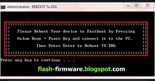 DownloadXiaomi Reboot To EDL Fastboot Tool Feature: Reboot